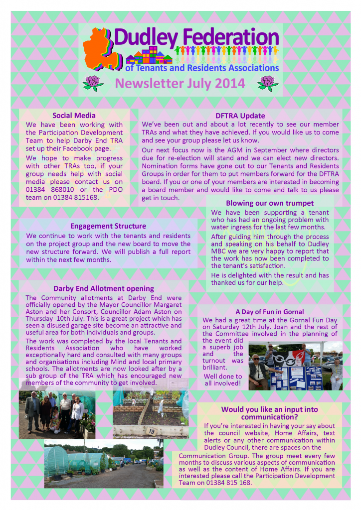 DFTRA news July 2014 p1