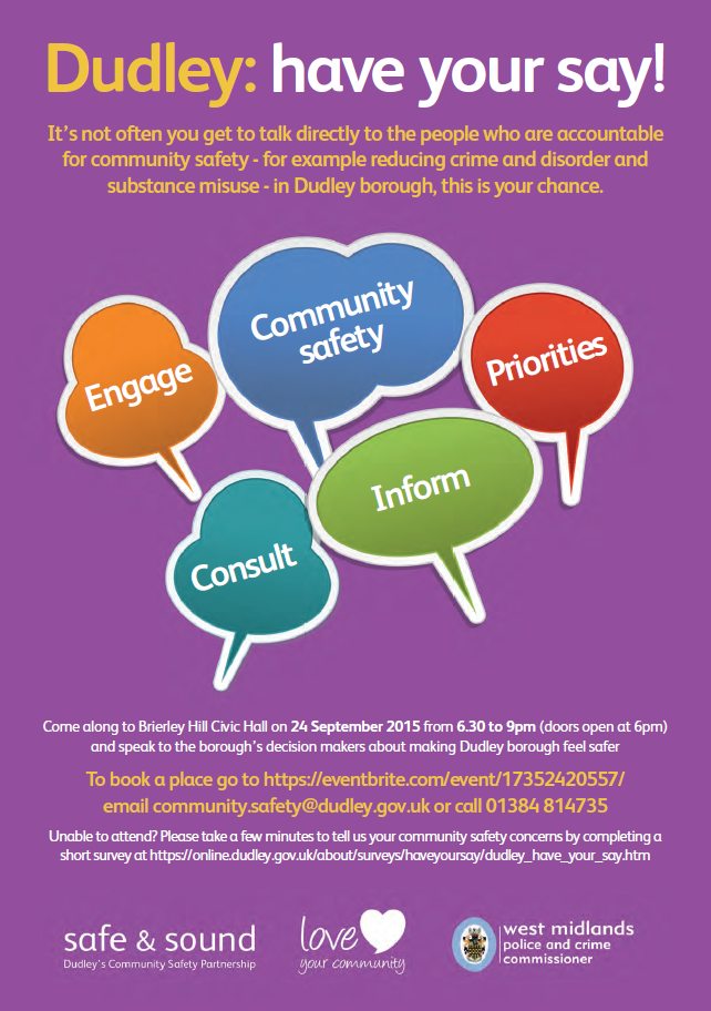 Dudley Council have your say