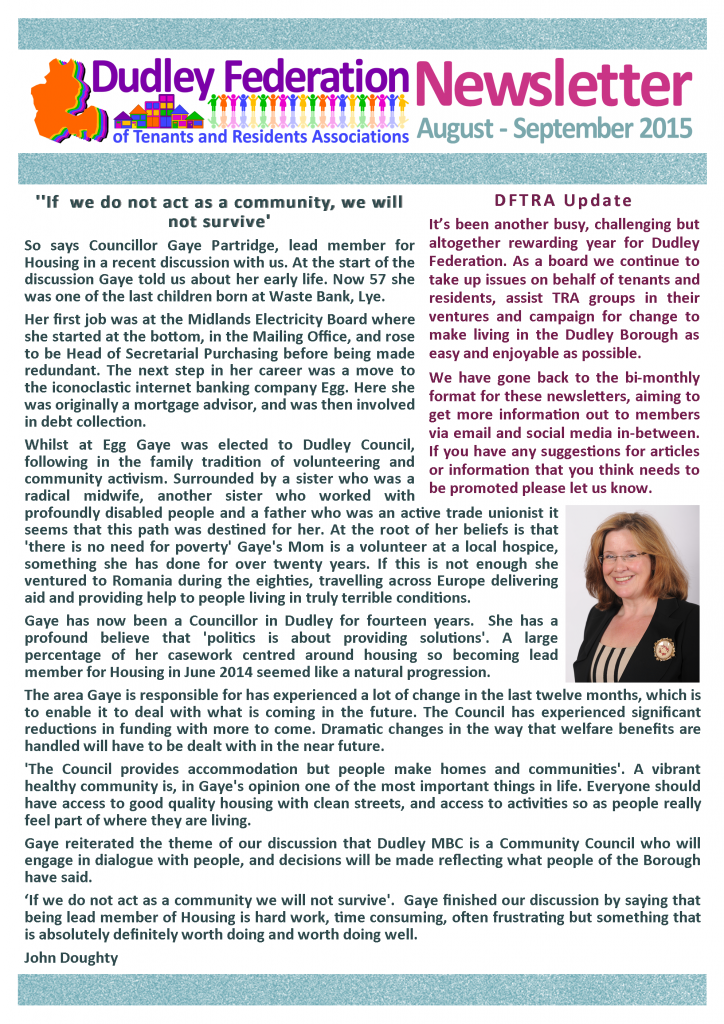 DFTRA news August-September 2015 p1