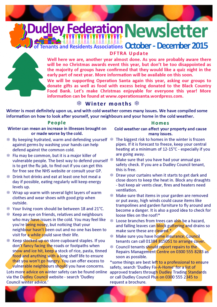 DFTRA news October-December 2015 p1