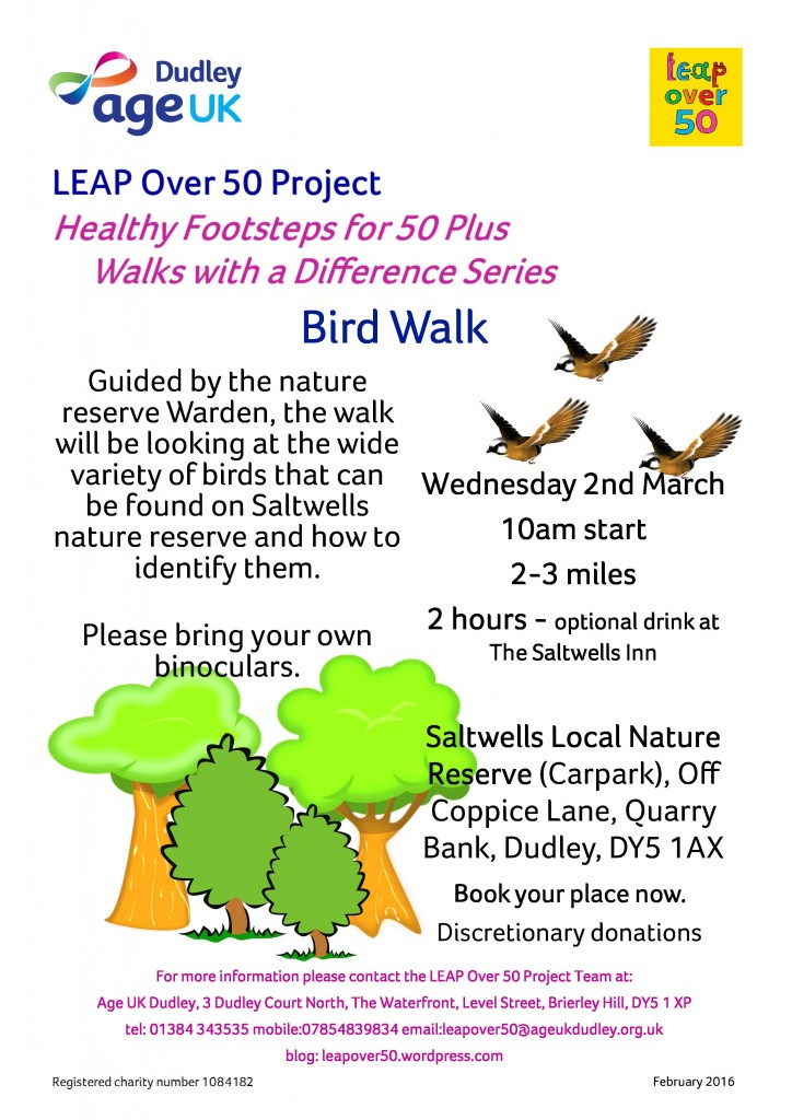 Bird Walk March 2016