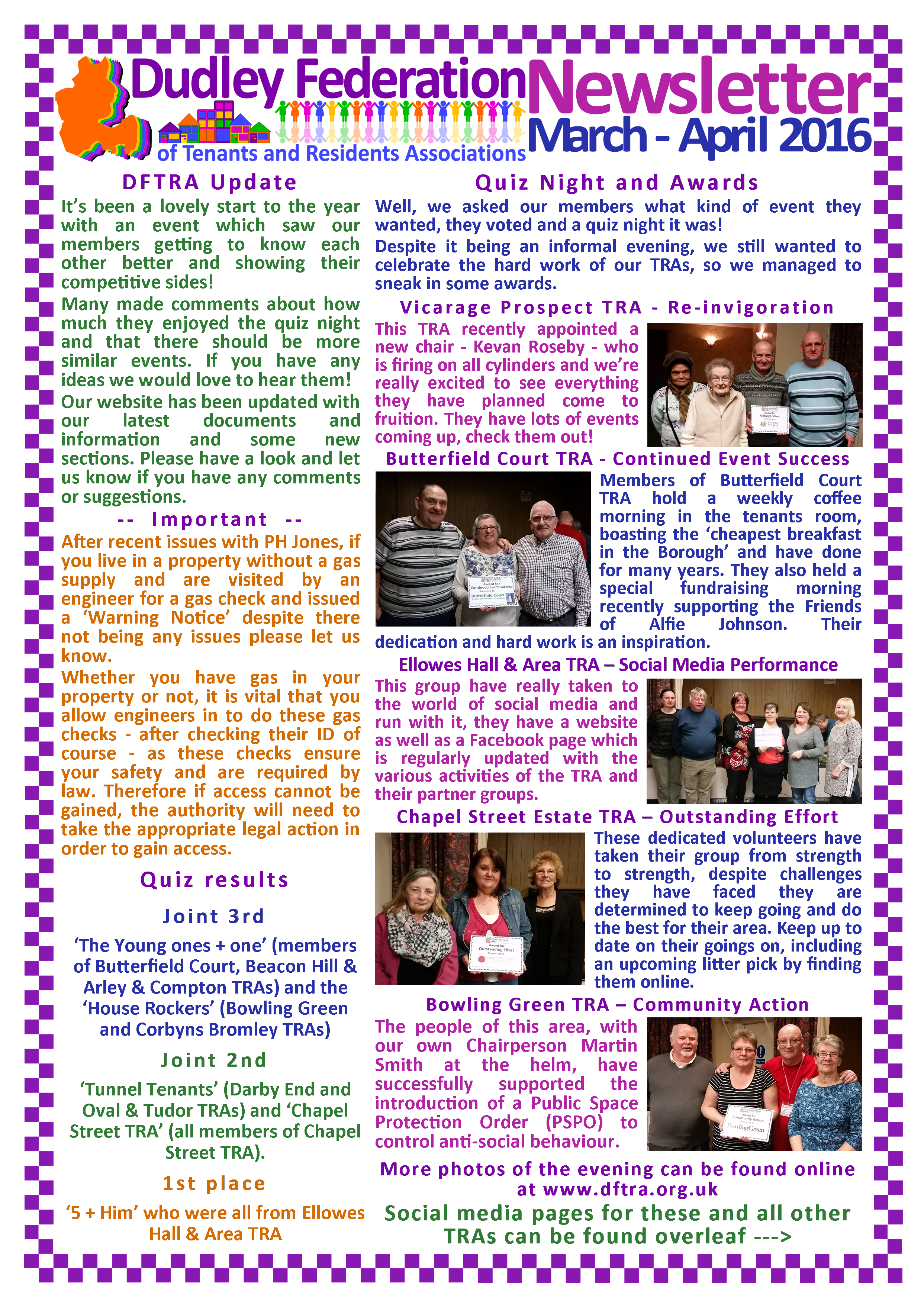 DFTRA news March - April 2016 p1