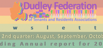 Dudley Federation newsletter Q2 August – October 2017 plus 2016-17 Annual Report