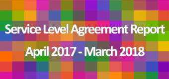 Service Level Agreement Report 2017/18