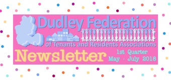 Dudley Federation Newsletter Q1 May – July 2018