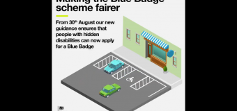 Blue Badges extended to people with non-visible (hidden) conditions