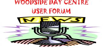 Woodside Day Centre User Forum newsletter September 2017
