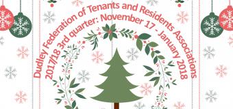 Dudley Federation Newsletter Quarter 3: November 2017-January 2018