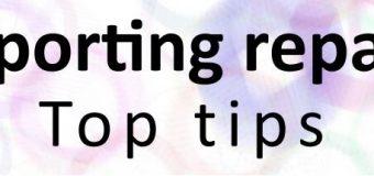 Reporting Repairs – Top Tips