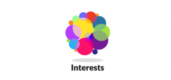 Stay up to date via interests.me